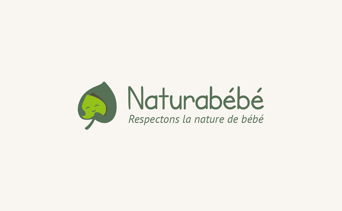 Conception du logo 'Naturabébé'