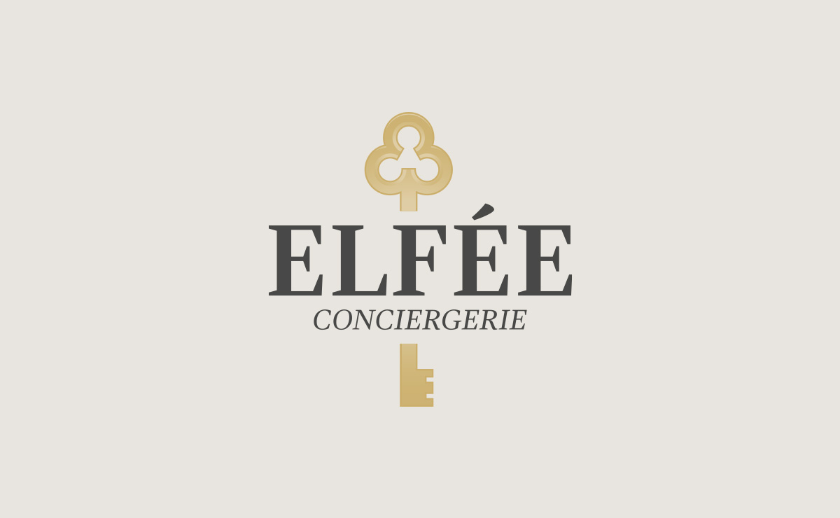 Conception du Logo 'Elfée Conciergerie'